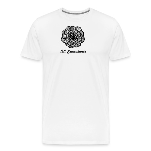 OC Succulents - Men's Premium T-Shirt