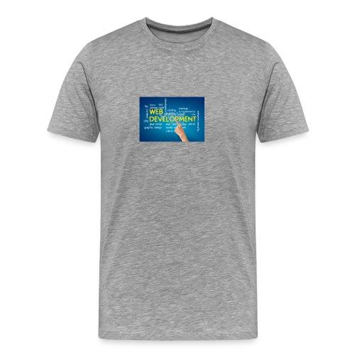 web development design - Men's Premium T-Shirt