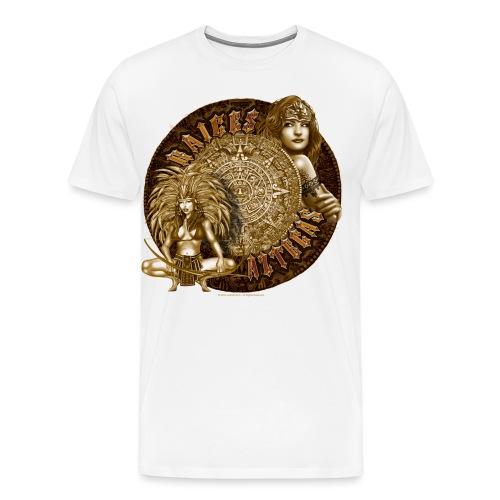Raices Aztecas by RollinLow - Men's Premium T-Shirt