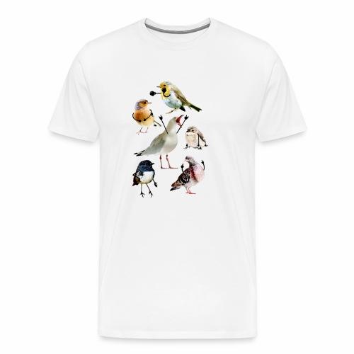 Birds With Arms - Men's Premium T-Shirt