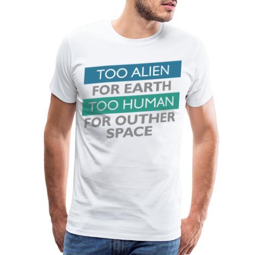 alien space astronaut - Men's Premium T-Shirt