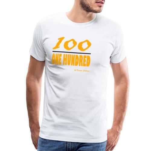 ONE HUNDRED ORANGE - Men's Premium T-Shirt
