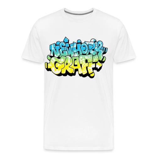 LAWE/SUB53 Design for New York Graffiti Color Logo - Men's Premium T-Shirt