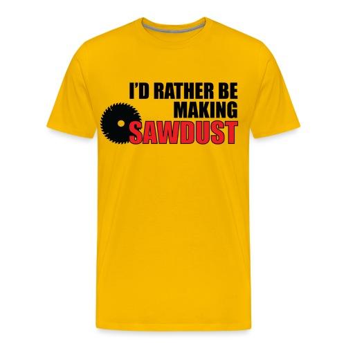 I'd Rather Be - Men's Premium T-Shirt