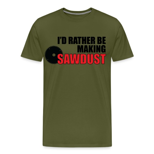 I'd Rather Be - Men's Premium T-Shirt