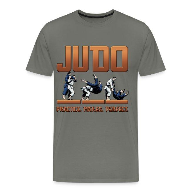 Judo Practice Makes Perfect Design