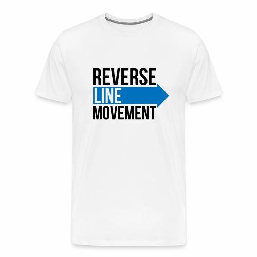 Reverse Line Movement - Men's Premium T-Shirt