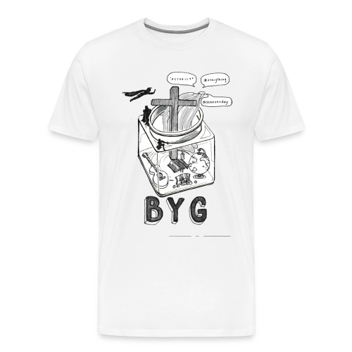 BYG shirt - Men's Premium T-Shirt