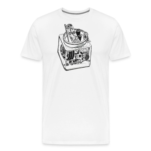Athlete Jar - Men's Premium T-Shirt