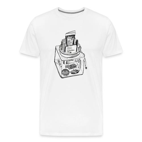 the travellers jar - Men's Premium T-Shirt