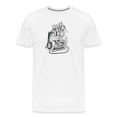 Musician jar - Men's Premium T-Shirt