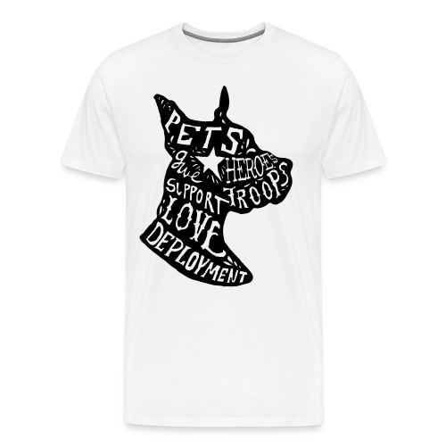 Dog's Favorite Tee - Men's Premium T-Shirt