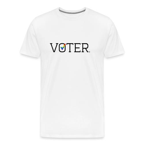 Voter (Cis and Trans) Women's T-Shirt - Men's Premium T-Shirt