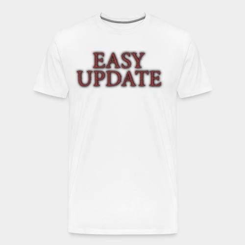 Easy Update Logo Red - Men's Premium T-Shirt