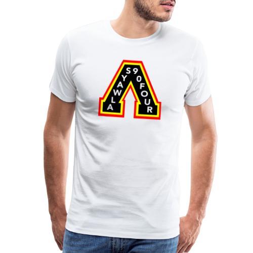 canucks skate a 2 - Men's Premium T-Shirt