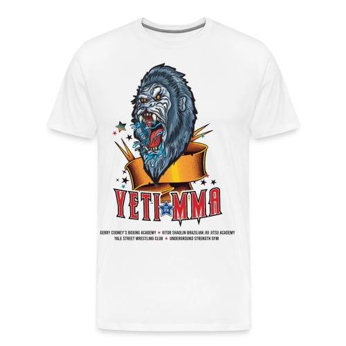 YETI MMA Never Quit 2020 Fundraiser - Men's Premium T-Shirt