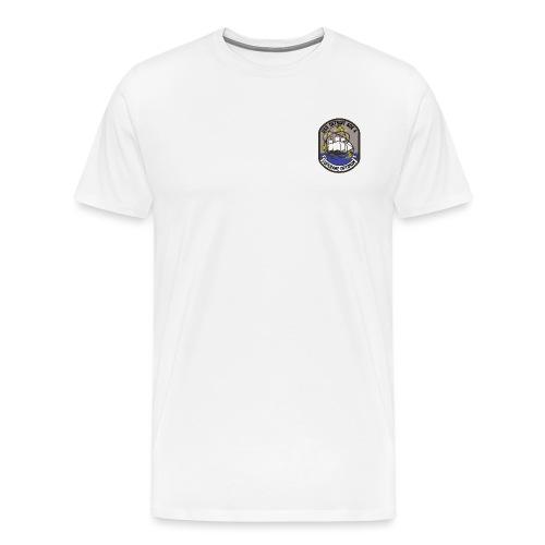 USS DETROIT COA - Men's Premium T-Shirt