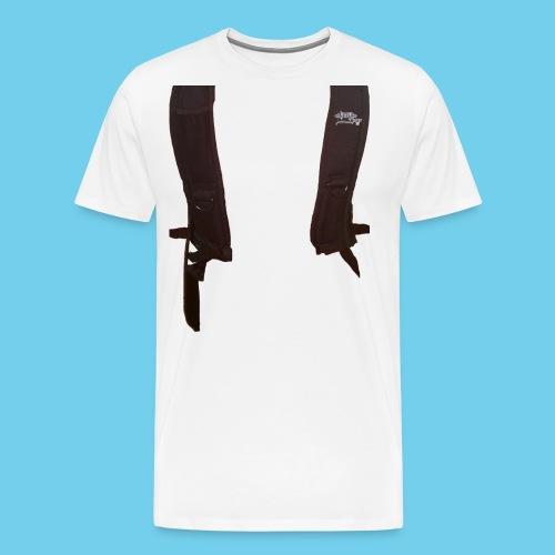 Backpack straps - Men's Premium T-Shirt