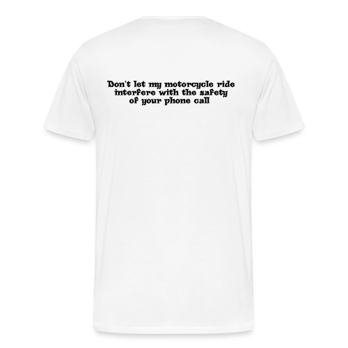 phonecallblack - Men's Premium T-Shirt