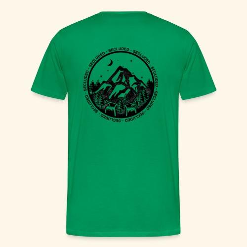 Bellingen Mountain Ranges - Men's Premium T-Shirt