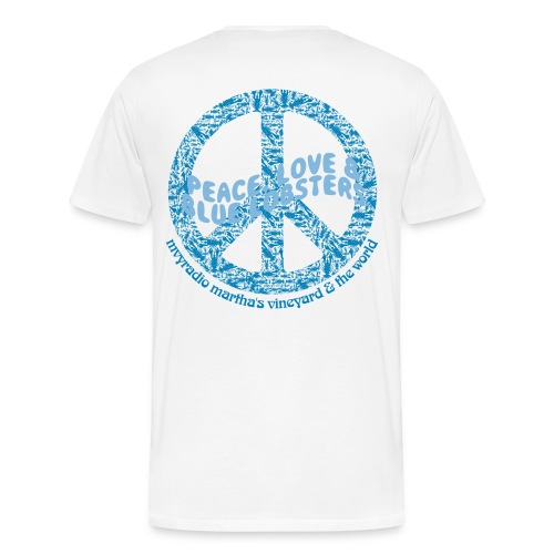 peaceloveandbluelobsters - Men's Premium T-Shirt