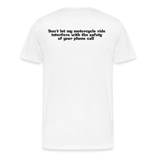 phonecallblack - Men's Premium T-Shirt