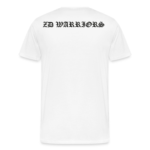 ZD Warriors Embossed Name - Men's Premium T-Shirt