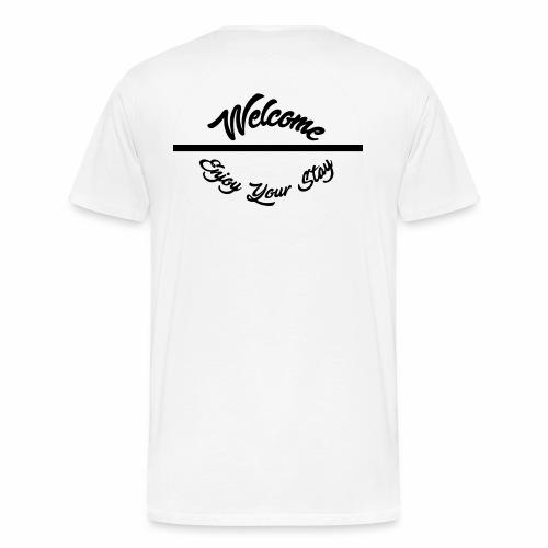 Welcome x Enjoy the stay - Men's Premium T-Shirt