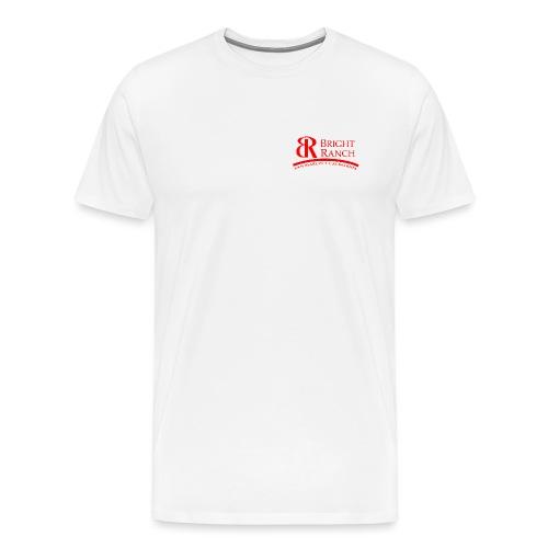 BRLogoTextRed - Men's Premium T-Shirt