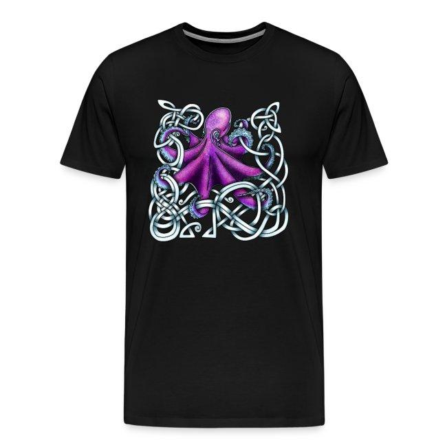 Celtic Octopus - Purple