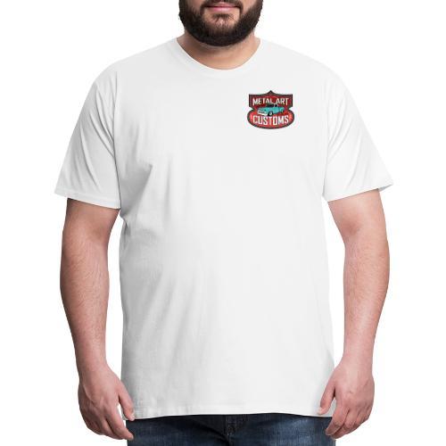 MetalArtCustomsLogo082915 - Men's Premium T-Shirt