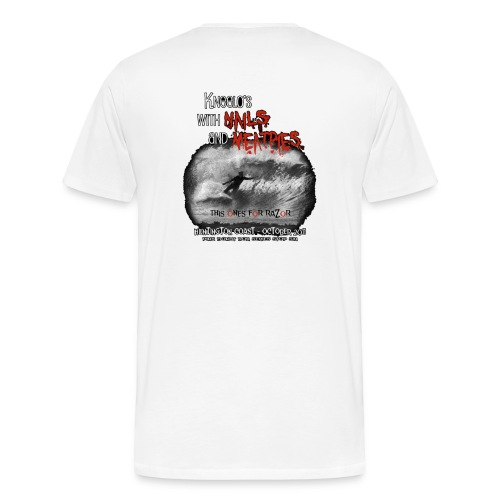 nails n meatpies png - Men's Premium T-Shirt