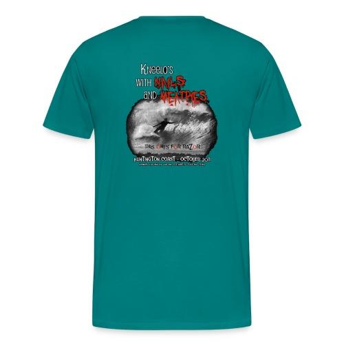 nails n meatpies png - Men's Premium T-Shirt