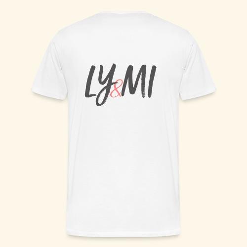 LYMI Logo Horizontal Grey - Men's Premium T-Shirt