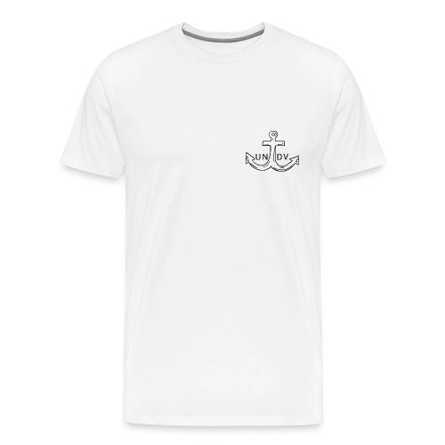 UNDV - Anchor (white) - Men's Premium T-Shirt
