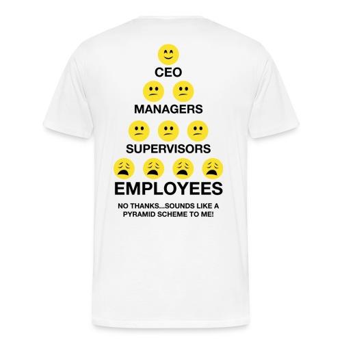 Pyramid Entrepreneur Womens - Men's Premium T-Shirt