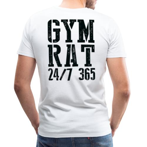 Gym Rat - Men's Premium T-Shirt