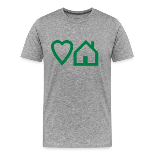 ts-3-love-house-music - Men's Premium T-Shirt