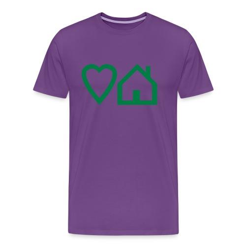 ts-3-love-house-music - Men's Premium T-Shirt
