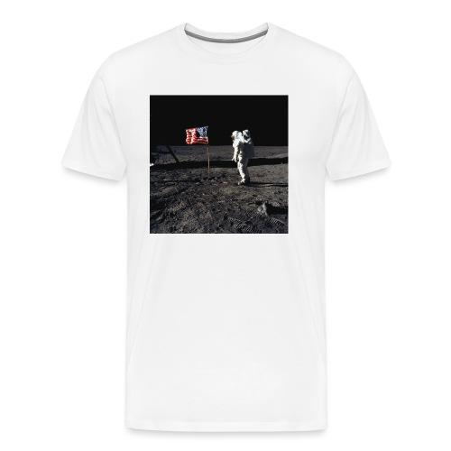 buzzAldrin jpg - Men's Premium T-Shirt