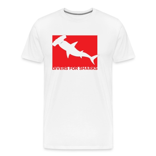Save Our Sharks & Divers for Sharks - Men's Premium T-Shirt