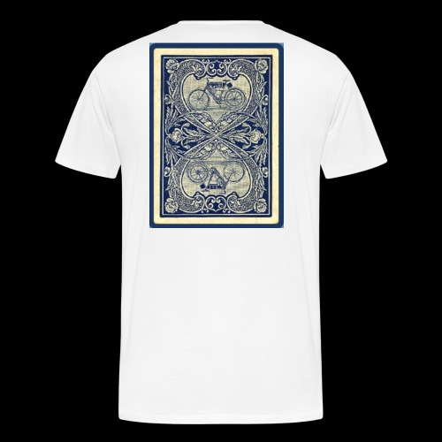 Bike card back - Men's Premium T-Shirt