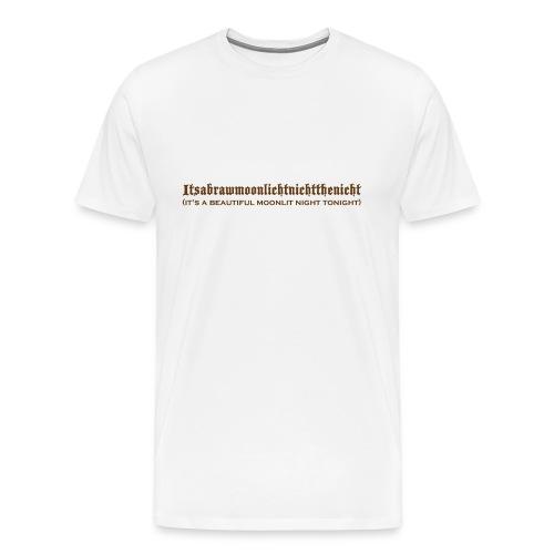 moonlittshirt - Men's Premium T-Shirt