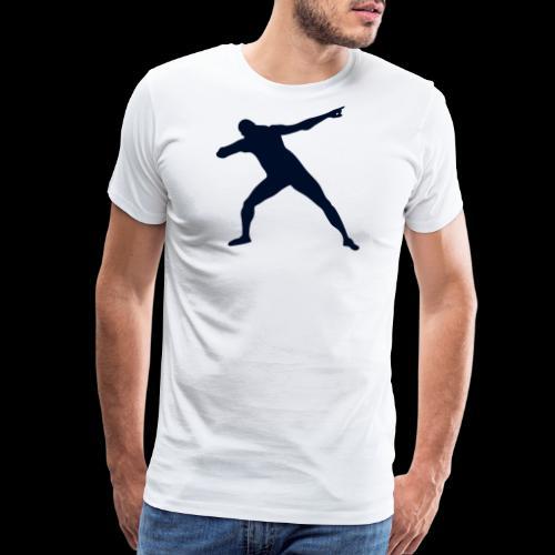 Bolt triumph silhouette - Men's Premium T-Shirt