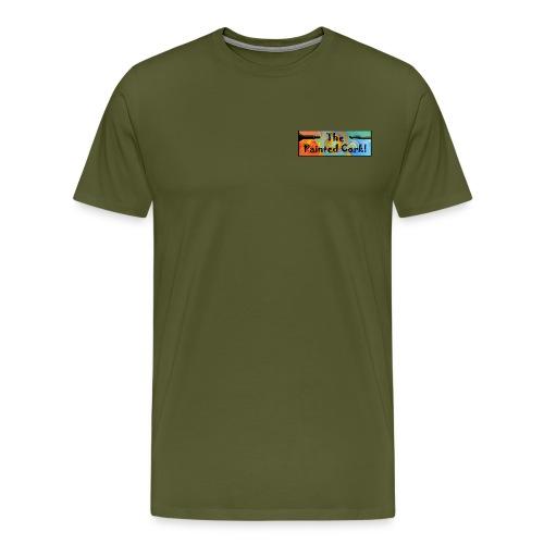 new Headerlogo brush and - Men's Premium T-Shirt