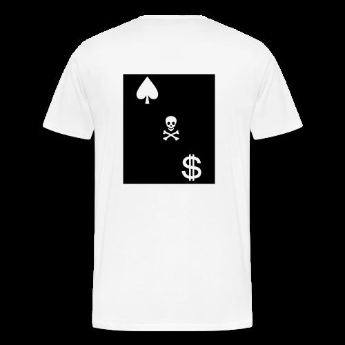 Cash Club Skull - Men's Premium T-Shirt