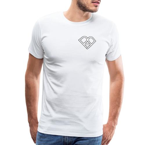 Riggi & Piros Heart - Men's Premium T-Shirt
