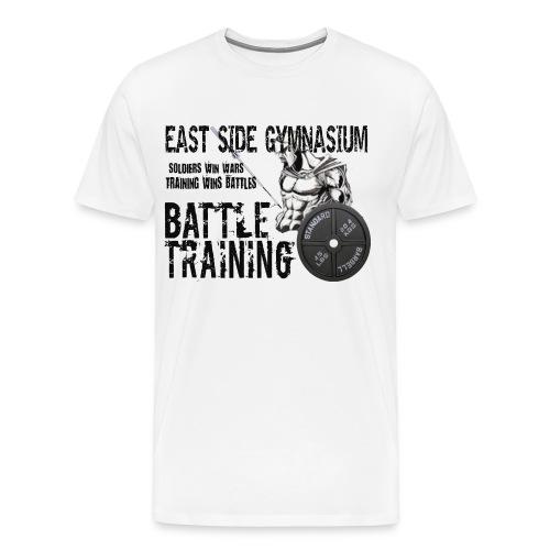 ESG300 WHT - Men's Premium T-Shirt
