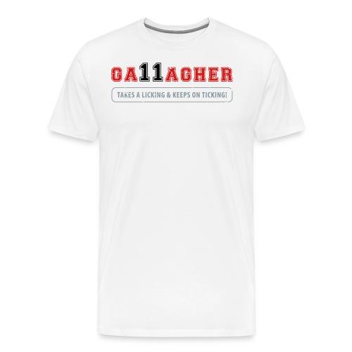 Gallagher Ticking - Men's Premium T-Shirt