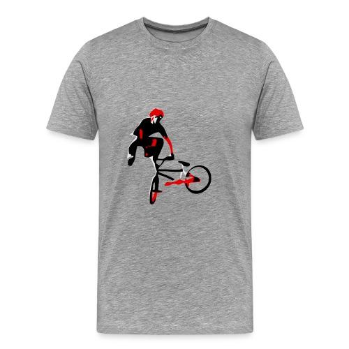 bmx t shirt free vector tailwhip - Men's Premium T-Shirt